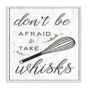 Cuadro Decorativo Take Whisks! Placa 32x47