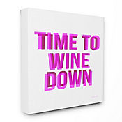 Cuadro en Lienzo Time To Wine Down 41x51