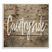 Cuadro Decorativo Countryside Placa 32x47