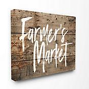 Cuadro en Lienzo Farmers Market 41x51