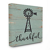 Cuadro en Lienzo Thankful Vintage Windmill 41x51