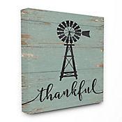Cuadro en Lienzo Thankful Vintage Windmill 61x76