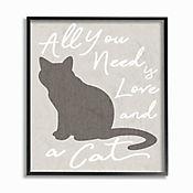 Cuadro en Lienzo Enmarcado All You Need Is Love And 28x36