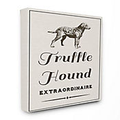 Cuadro en Lienzo Truffle Hound Extraordinarie 41x51