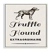 Cuadro Decorativo Truffle Hound Extraordinarie Placa 25x38