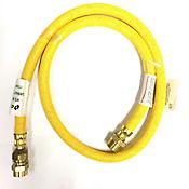Conector Gas 100 cm 3/8 x 1/2