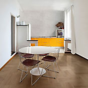 Piso Cerámico Tayrona Café Cara Diferenciada 60X60 cm Caja 1.8 m2