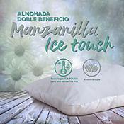 Almohada Dos Beneficios Ice Touch Manzanilla 47x67cm