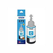 Botella de Tinta Cyan T673220-AL