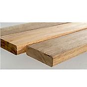 Listón Deck Acacia 7 x 120cm 20mm Lados 4 Bocelados 15 Und