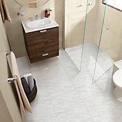 Piso Cerámico Nevero Blanco Cara Diferenciada 45.8x45.8 Caja 1.89 m2