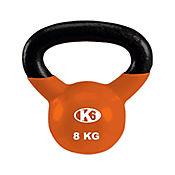 Pesa Rusa Kettle Bell de 8 Kgs Gymplus Naranja