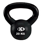 Pesa Rusa Kettle Bell de 44 Libras Gymplus Negro