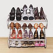 Zapatero Ajustable para Zapatos Altos Metal