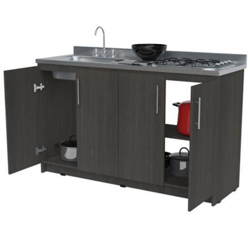Mueble para Cocina Modular Inferior Aviñon RH 91cm Alto x 148cm Ancho x  49.5cm Profundidad salvaje