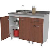 Mueble para Cocina Inferior Moscu 92 cm Alto x 120 cm Ancho x 52 cm Profundidad Cedro