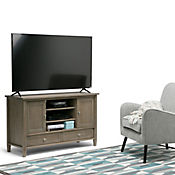 Mueble para TV Warm Shaker 46x74x120 Gris