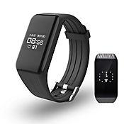 Smartband Ritmo Cardiaco Monitor Actividad Física Negro K1