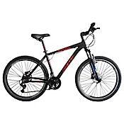 Bicicleta Alligator Talla M Rin 27,5 pulgadas Frenos Hidráulicos 24 Velocidades Negro - Rojo