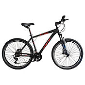Bicicleta Alligator Talla M Rin 29 pulgadas Frenos Hidráulicos 24 Velocidades Negro - Rojo