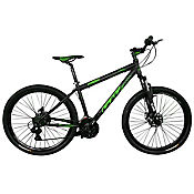 Bicicleta Hyena Talla M Rin 29 pulgadas 21 Velocidades Negro - Verde