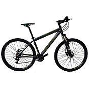 Bicicleta Jackal Talla M Rin 27,5 pulgadas Frenos Hidráulicos 24 Velocidades Negro - Verde