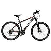 Bicicleta Ocelot Talla M Rin 29 pulgadas Suspensión Delantera Shimano Tipo Moto Negro - Rojo