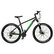 Bicicleta Hawk Talla M Rin 29 pulgadas Frenos Hidráulicos 24 Velocidades Negro - Verde