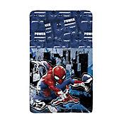 Juego Cama Semidoble 150 Hilos Spiderman City