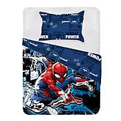 Comforter Sencillo 150 Hilos Spiderman  City