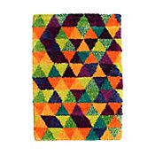 Tapete Festival Triangulos 200x285 cm Multicolor