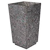 Matera Cónica Mediana Polialuminio 40x40x74 cm