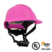 Casco Mountain ABS Rosado Con Barbuquejo