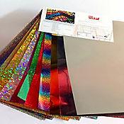 Vinilo Textil Holographic 9 Laminas + Metal 2 Laminas + Reflective 1 Laminas