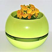 Matera en Plástico Reciclado Verde Claro 22,5 cm