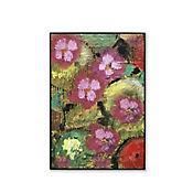 Retablo Floral Multicolor 50x70x3