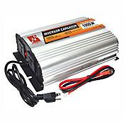 Inversor de Voltaje de Onda Sinusoidal Pura con Cargador 12VDC 1000W