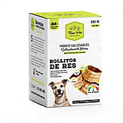 Snack para Perro Rollitos Res 100% Natural