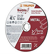Disco para Corte Extrafino de Metal 4.1/2Pulg