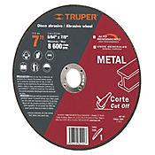 Disco Corte Metal Uso General Espesor 2 Mm 7Pulg