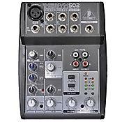 Consola 502 Mezclador Audio