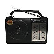 Parlante Sonivox Radio Am Fm Mw Sw Aux Aurícula
