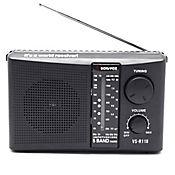 Parlante Radio Am/Fm Sw1 Sw2 Tv Potente 5 Banda