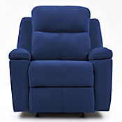 Reclinable Mecedora Marsella Tela 80x90x100 Azul
