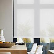 Enrollable Solar Screen 10 Blanco A La Medida Ancho Entre 60-100  cm Alto Entre  260.5-280 cm