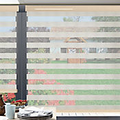 Sheer Elegance Linen Beige Lino A La Medida Ancho Entre 60-100  cm Alto Entre  190.5-210 cm