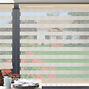 Sheer Elegance Linen Beige Lino A La Medida Ancho Entre 60-100  cm Alto Entre  150.5-165 cm
