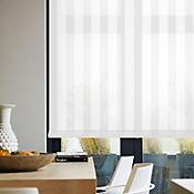 Enrollable Riviera Blanco A La Medida Ancho Entre 300.5-320  cm Alto Entre  150.5-160 cm