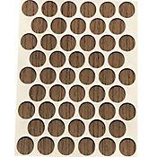 Caja x 2500 Tapatornillos Adhesivos de 14 mm Nuez