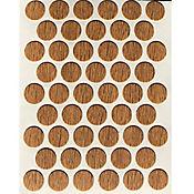 Caja x 2500 Tapatornillos Adhesivos de 14 mm Amareto